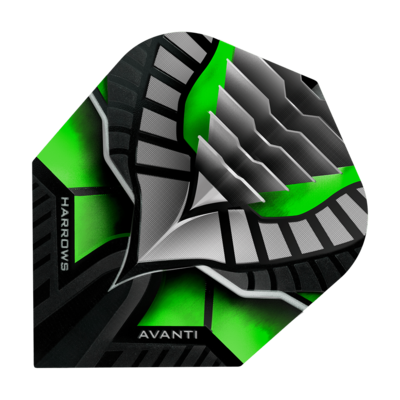 Piórka Harrows Avanti Green