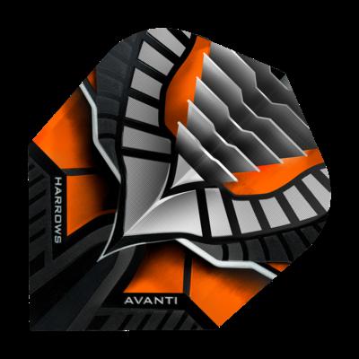 Piórka Harrows Avanti Orange