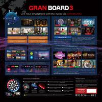 GranDarts GranBoard 3S Blue Smartboard