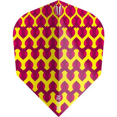 Piórka Target Fabric Yellow NO6