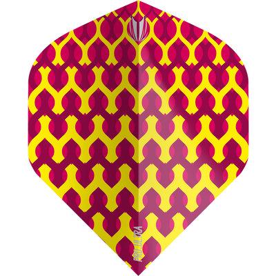 Piórka Target Fabric Yellow NO2