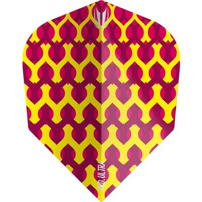 Piórka Target Fabric Yellow TEN-X