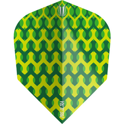 Piórka Target Fabric Green NO6