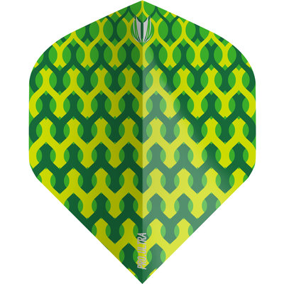 Piórka Target Fabric Green NO2