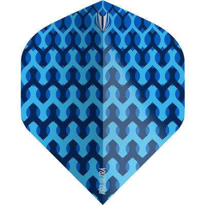 Piórka Target Fabric Blue NO2