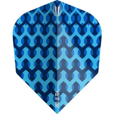 Piórka Target Fabric Blue TEN-X