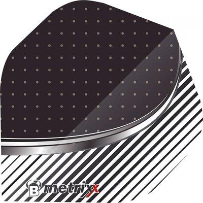 Piórka BULL'S Metrix Stripe White