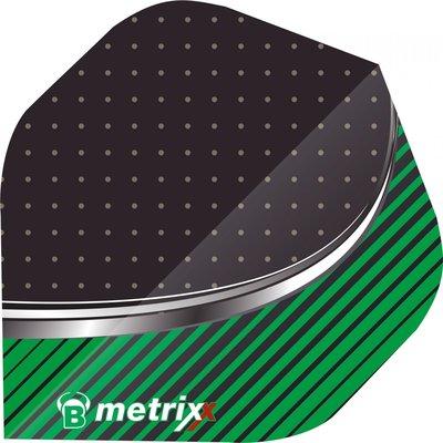 Piórka BULL'S Metrix Stripe Green