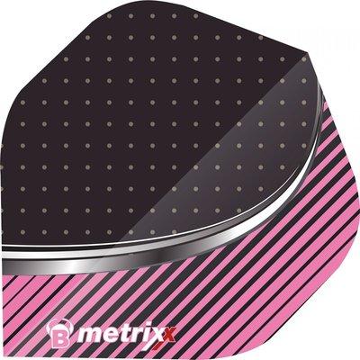 Piórka BULL'S Metrix Stripe Pink