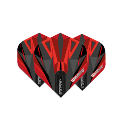 Piórka Winmau Prism Delta Black & Red