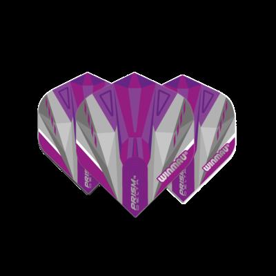 Piórka Winmau Prism Delta Purple & White
