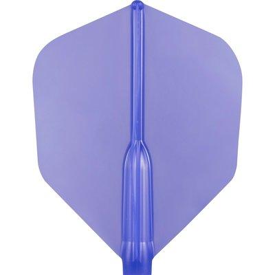 Piórka Cosmo Darts - Fit Piórek AIR Dark Blue Shape