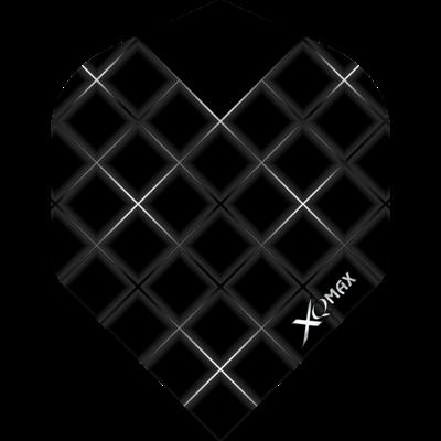 Piórka XQMax Grid Black No2
