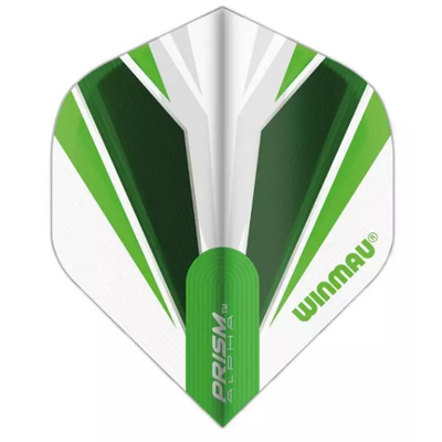 Piórka Winmau Prism Alpha White & Green
