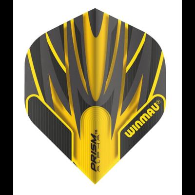 Piórka Winmau Prism Alpha Yellow & Black