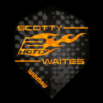 Piórka Winmau Scott Waites Black