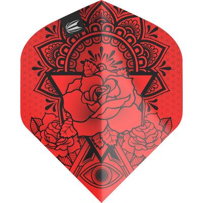 Piórka Target Ink Pro Ultra Red NO2