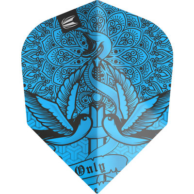 Piórka Target Ink Pro Ultra Blue NO6