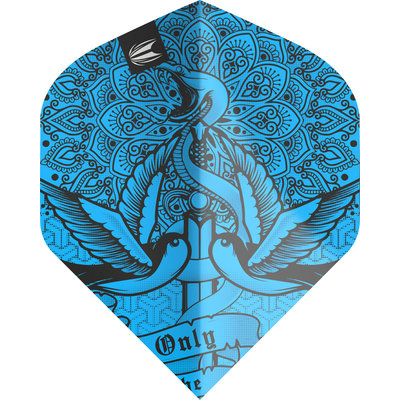 Piórka Target Ink Pro Ultra Blue NO2