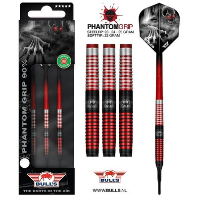 Lotki Soft Bull's Phantom Grip Red 90%