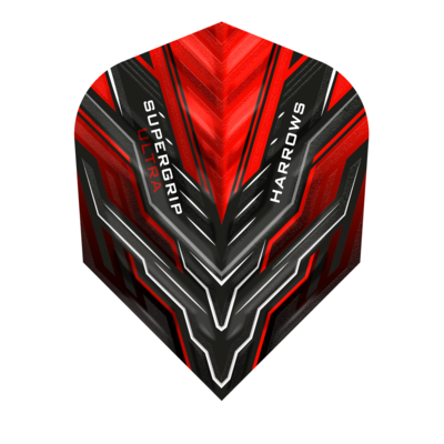 Piórka Harrows Supergrip Ultra Red
