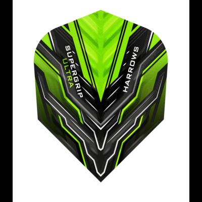 Piórka Harrows Supergrip Ultra Green