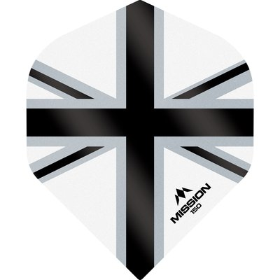 Piórka Mission Alliance-X 150 White & Black NO2
