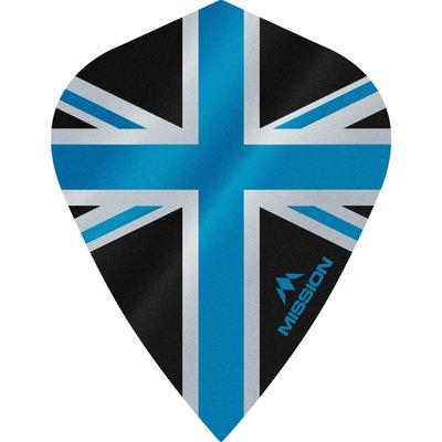 Piórka Mission Alliance 100 Black & Blue Kite