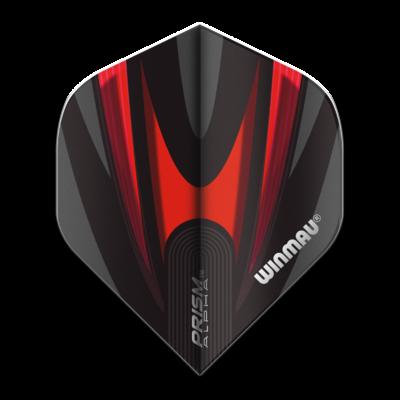 Piórka Winmau Prism Alpha Extra Thick Black & Red