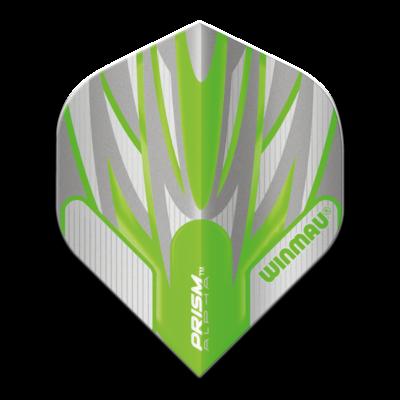 Piórka Winmau Prism Alpha Extra Thick Grey & Green