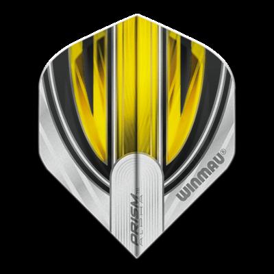 Piórka Winmau Prism Alpha Extra Thick White & Yellow