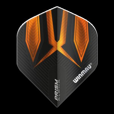 Piórka Winmau Prism Alpha Extra Thick Black & Orange