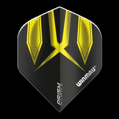 Piórka Winmau Prism Alpha Extra Thick Black & Yellow