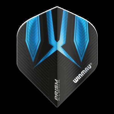 Piórka Winmau Prism Alpha Extra Thick Black & Blue