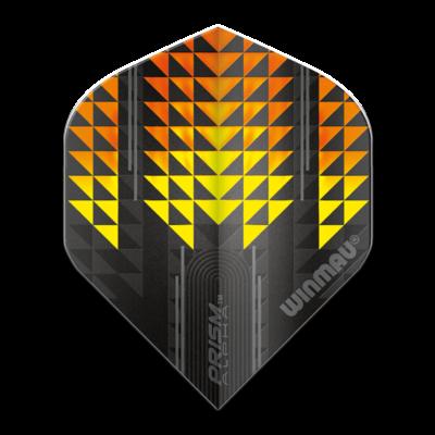 Piórka Winmau Prism Alpha Extra Thick Yellow & Orange