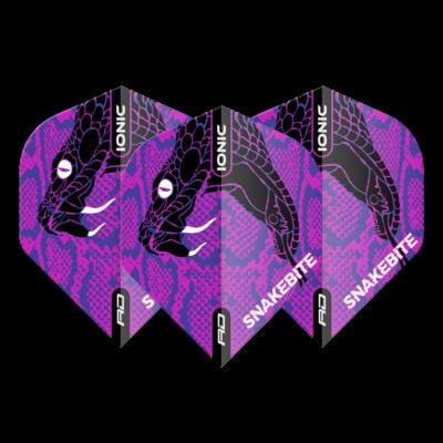 Piórka Peter Wright Hardcore Ionic Snakebite Purple Head