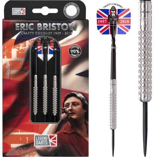 Legend Darts Lotki Eric Bristow Crafty Cockney 90% Silver Knurled