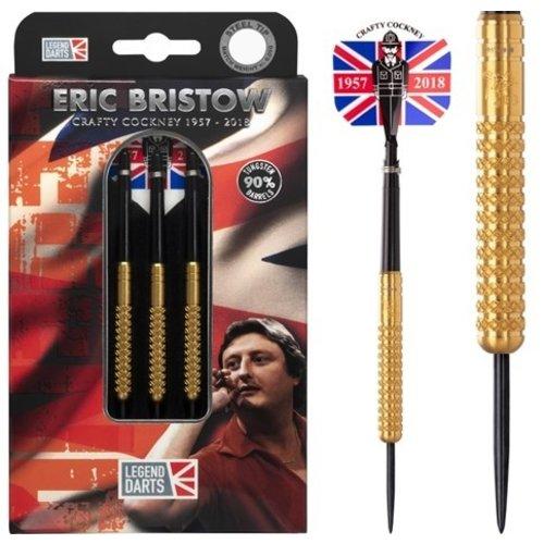 Legend Darts Lotki Eric Bristow Crafty Cockney 90% Gold Knurled