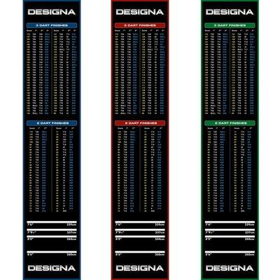 Mata do Darta Designa Dywan  - Non Slip Back - 290cm x 60cm