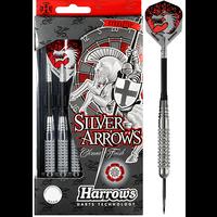 Harrows Lotki Harrows Silver Arrows Knurled Brass
