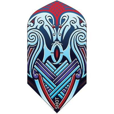 Piórka Shot Viking Raven Blue Slim