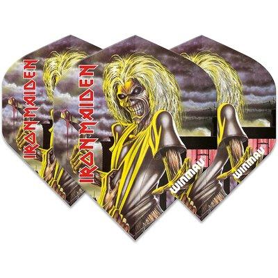Piórka Winmau Rock Legends Iron Maiden Killers