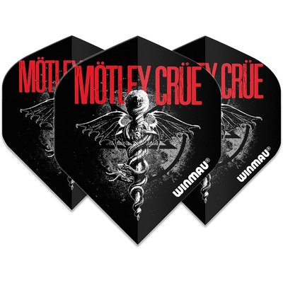 Piórka Winmau Rock Legends Motley Crue Feelgood