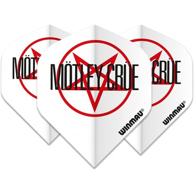 Piórka Winmau Rock Legends Motley Crue Logo