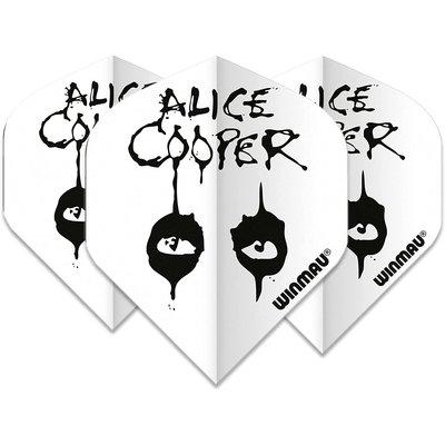 Piórka Winmau Rock Legends Alice Cooper White