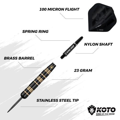 KOTO KOTO Pro Edition Opona ochronna Dart zestaw