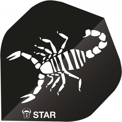 Piórka Bull's B-Star Scorpion Black