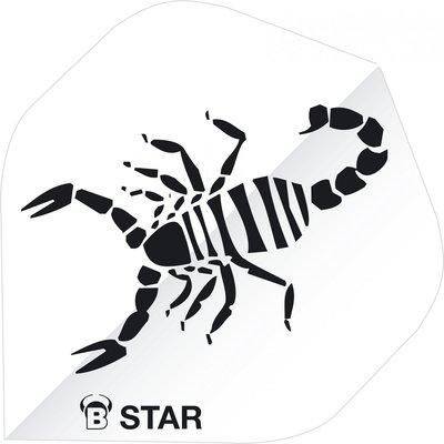Piórka Bull's B-Star Scorpion White