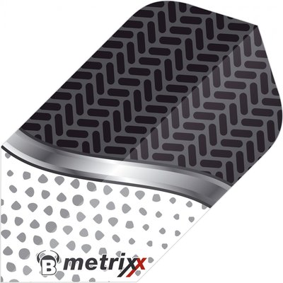 Piórka Bull's Metrixx Dot White Slim