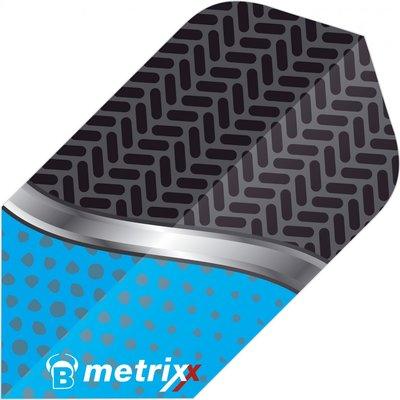 Piórka Bull's Metrixx Dot Blue Slim